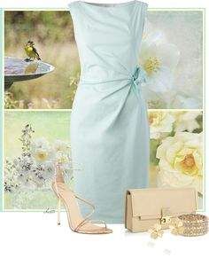 """Birds and Blooms"" by christa72 ❤ liked on Polyvore"