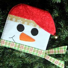 December Snowman Hot Pad