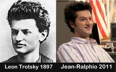 Jean Ralphio Saperstein vs a young Trotsky