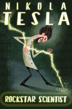 Nikola Tesla: Rockstar Scientist love this poster from Cloudy With A Chance of Meatballs!