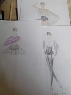 Pedacinho da coleção dessa semana. #ilustracaodemoda #moda