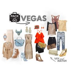 """Pack and Go Las Vegas Outfits"" by tiffanolan on Polyvore"
