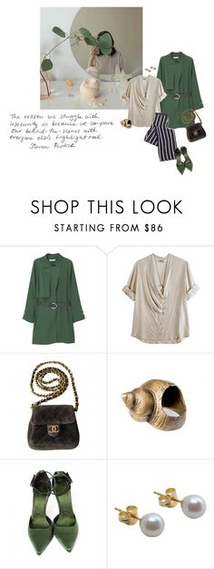 """""""Insecurity"""" by tasteofbliss ❤ liked on Polyvore featuring Acne Studios, Chanel, Alkemie, Burberry and A B Davis"""