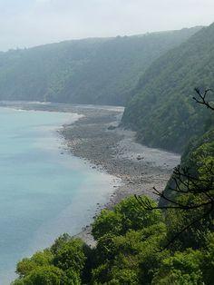 View from Clovelly, north Devon