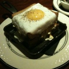 Lobster Grilled Cheese (With Organic Fried Egg) @ Butcher & The Boar