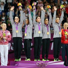 2012 Olympic GOLD gymnastics
