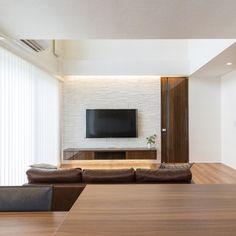 Living Room Tv Unit Designs, Interior Design Living Room, Home Living Room, Living Room Decor, Natural Interior, Tv Cabinets, Dream Decor, New Room, Home Projects
