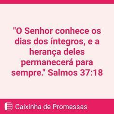 Salmos 37:18