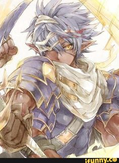 Raaga from Brave Frontier