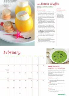 Inside our 2014 Thermomix Calendar Thermomix Desserts, Calendar, Lemon, Words, Cooking, Recipes, Kitchen, Recipies, Life Planner