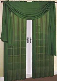 How To Hang Scarf Curtains And Window Scarf On Pinterest