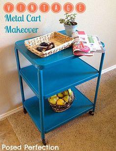 10 Furniture Makeover Ideas #DIY * perhaps not blue.