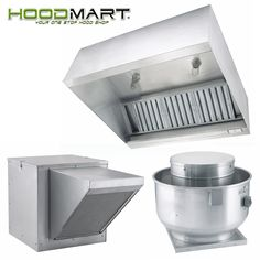 Restaurant Kitchen Hood kitchen canopy with perforated front fresh air supply diffusers