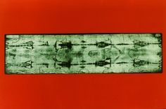 Photograph of the Holy Shroud of Turin