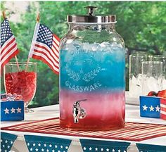 4th of July Patriotic Fruit Punch Recipe