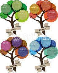 2015 calendar tree