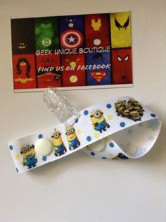 Despicable Me Minions Dreamworks Baby Boy Girl Dummy Clip