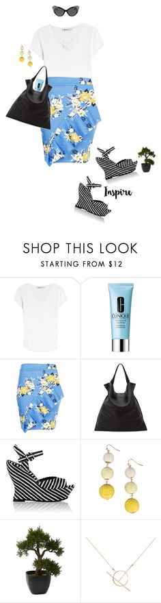 Casual Workwear by prettynposh2 on Polyvore featuring T By Alexander Wang, Boohoo, Alice + Olivia, Jil Sander, Armitage Avenue, A Weathered Penny, Dsquared2, Clinique and Nearly Natural