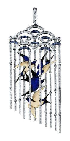 """Ильгиз Фазулзянов - Подвеска """"Ласточки"""" / Ilgiz Fazulzyanov - pendant """"Swallows"""""""
