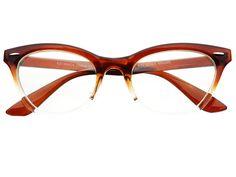 Clear Lens Designer Cat Eye Glasses Frames Brown C384 – FREYRS - Sunglasses at Affordable Prices