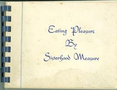 """Eating Pleasure by Sisterhood Measure"" (Shaare Tefila, Washington D.C., 1958)"