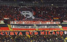 Curva Sud Milano always do AMAZING work! Congrats guys. #weareacmilan #Derby #IInterMilan #CurvaSud #forzaMilan