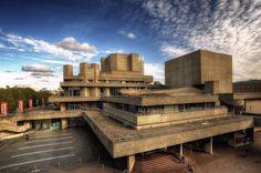 National Theater in London, 1976 / Denys Lasdun