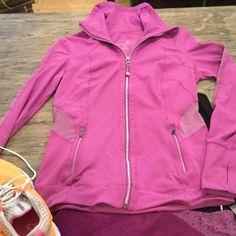 Tangerine workout jacket Small Jackets & Coats