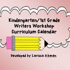 This is a sample curriculum calendar for a writers workshop block. It includes time frames, unit of study titles, and teaching points for each. Kindergarten Curriculum Map, Kindergarten Anchor Charts, Curriculum Mapping, Kindergarten Writing, Teaching Writing, Teaching Ideas, Literacy, Lucy Calkins Writing, Writing Lessons