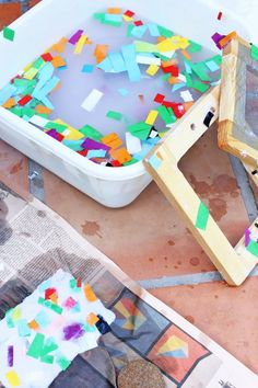 Learn how to make paper with this step-by-step tutorial.