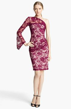 Emilio Pucci One Shoulder Lace Dress available at Nordstrom price ? let's say over 3 but not more than 3050. I wonder if they ship free to Australia. Non the less, a girl can dream, I love this dress.