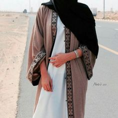 Find images and videos about hijab and abaya on We Heart It - the app to get lost in what you love. Abaya Fashion, Modest Fashion, Fashion Outfits, Fashion Wear, Abaya Designs, Muslim Women Fashion, Islamic Fashion, Modest Wear, Modest Outfits