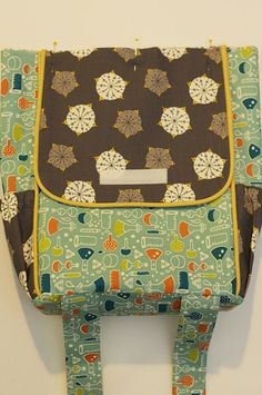 Backpack Supplies: A few notes/tips before you get started: Prewash/press all fabric. Always be mindful of fabric direc...