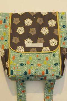 birchfabrics: Tutorial: Little Hitchhiker's Backpack