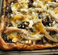 Easy Italian BBQ Chicken Pizza