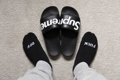 Supreme Flops X Fuck Off Socks