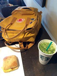 Enjoyed it!! Kanken Backpack, Essentials, Backpacks, Warm, Colour, Tea, Coffee, Yellow, Fashion