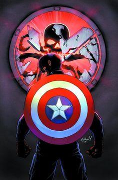 Captain America by Cory Swinford *