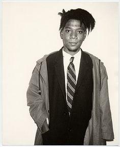 Jean-Michel Basquiat, photo by Andy Warhol