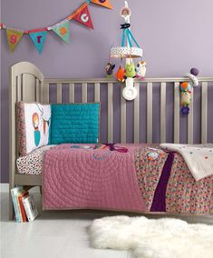 Mamas&Papas Timbuktales – Cot Bed Bumper (Girl) - Buy Online, AfterPay Available - Ph: 222 Bedding Sets Uk, Baby Crib Bedding Sets, Cot Bedding, Pink Bedding, Girl Nursery Bedding, Nursery Curtains, Baby Nursery Decor, Nursery Ideas, Black Nursery Furniture