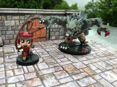 More painted minis from Super Dungeon Explore