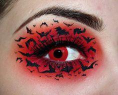 bat_out_of_hell makeup, #makeup #eyes #face #nails