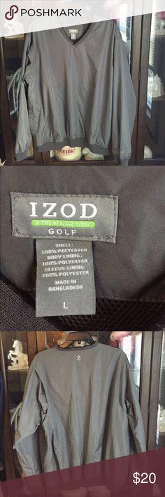 Men's Izod X-Treme Function Golf Gray Windbreaker This item is in great shape! Izod Jackets & Coats Windbreakers