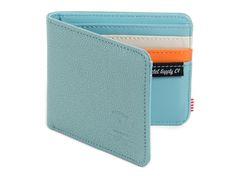 Herschel Supply Co. Hank Seaform & Bone Leather Bi-fold Wallet. #mens #envy #myluxury #style