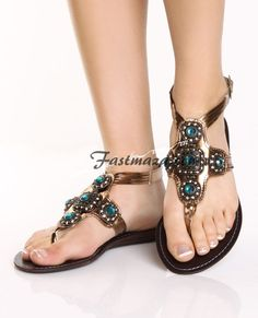 Ladies Summer Flat Sandals 2014 | Flat Shoes COLLECTION FOR GIRLS 2013-2014