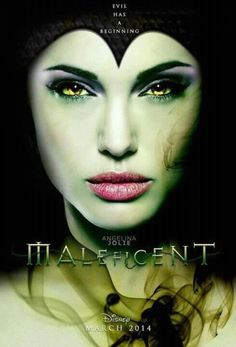 """The movie poster for the Angelina Jolie fairytale Maleficent. Jolie plays the """"Sleeping Beauty"""" sorceress Maleficent. Maleficent is set to arrive in theaters on March Disney Pixar, Film Disney, Disney Villains, Disney Characters, Fictional Characters, Maleficent Makeup, Maleficent 2014, Maleficent Movie, Sleeping Beauty"""