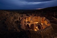 Mysterious rings of Gobekli Tepe - world oldest manmade religious structure. 12 000 years old Turkey. [2048x1365]