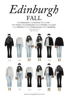 Fall Capsule Wardrobe, Fall Travel Wardrobe, Business Travel Outfits, Fall Travel Outfit, Travel Wear, Outfit Summer, Fall Outfits, Fashion Outfits, Fashion Capsule