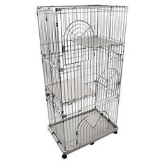IRIS 3-Tier Wire Cat Cage *** Read more reviews of the product by visiting the link on the image. (This is an Amazon affiliate link)