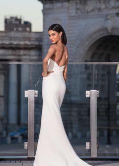 c17685cd675d 51 Best Amsale - Little White Dress Fall 2019 images